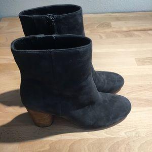 Sam Edelman Shoes - Sam Edelman Corra Ankle Boot - Grey Suede